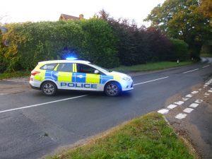 Police closing B1113