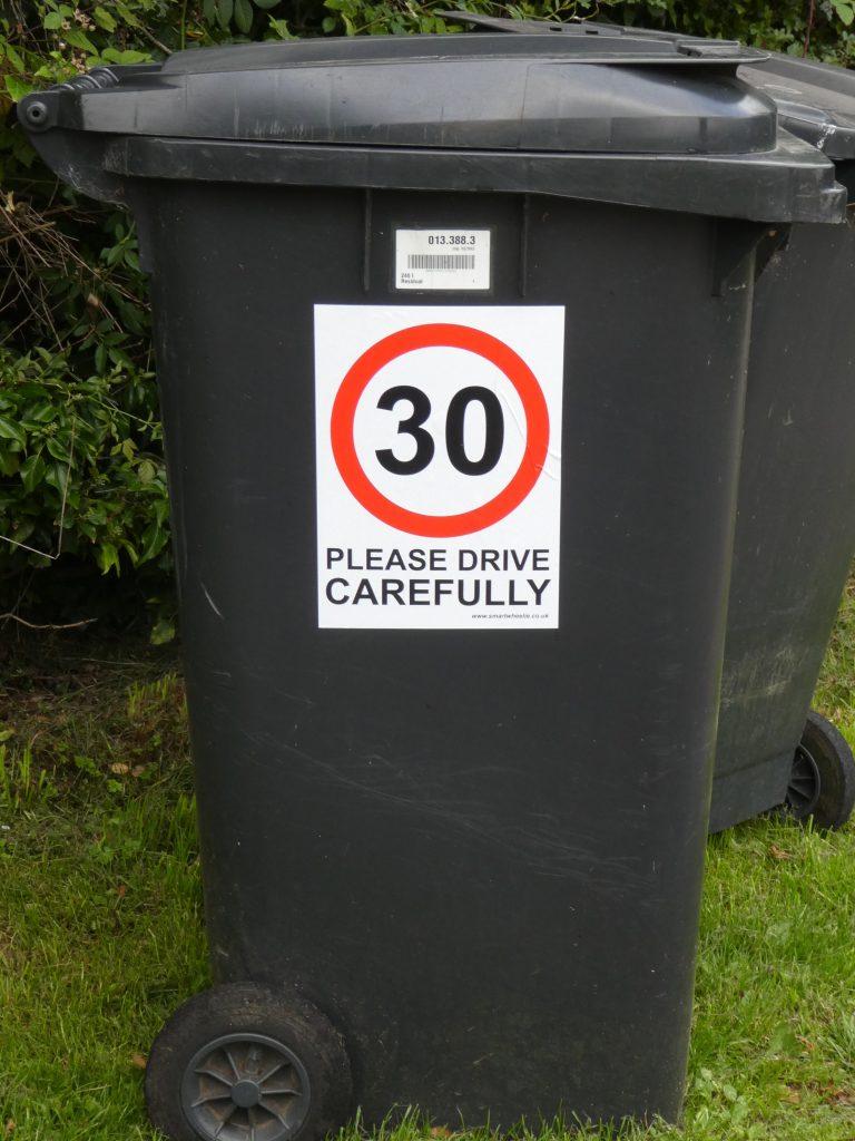 30 mph notice