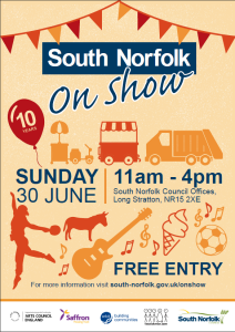 Sout Norfolk show 30 June